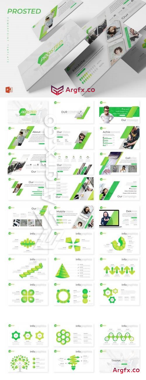 Prosted - Powerpoint, Keynote, Google Sliders Templates